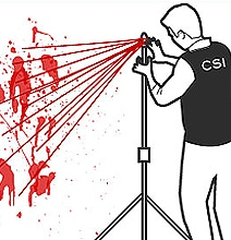 CSI Wannabes: How To Analyze A Bloodstain Pattern