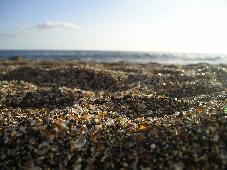 Californian Smooth Glass Shard Beach