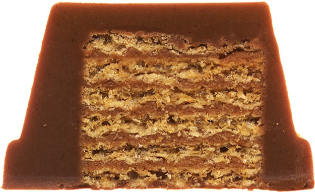 High Resolution Chocolate Bar Scanned