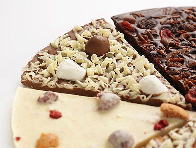 Slice Of Heaven: A Chocolate Pizza With Chocolate Toppings