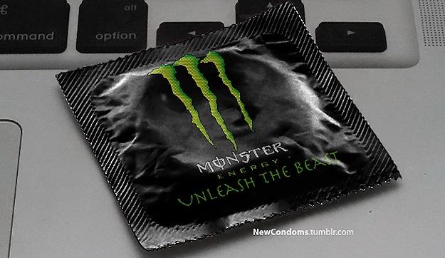 Monster Energy Drink Condom