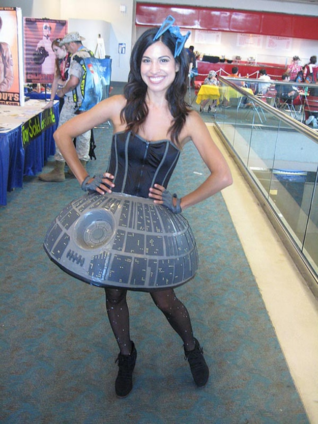 Meet Miss Death Star: The Ultimate Star Wars Cosplay Dress