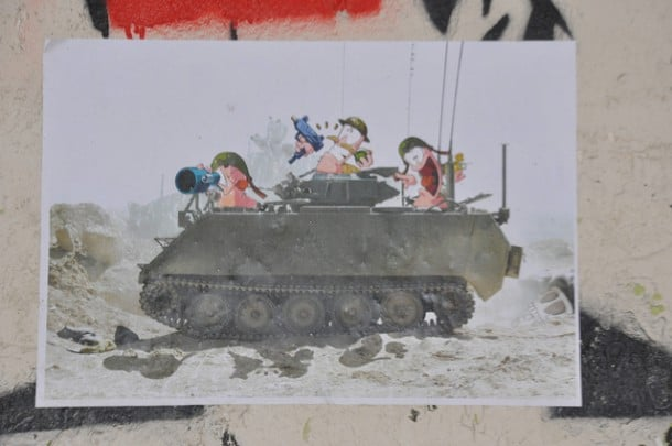 Disney Mashup Paris Street Art