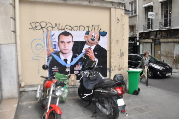 Disney Mashup Paris Street Art