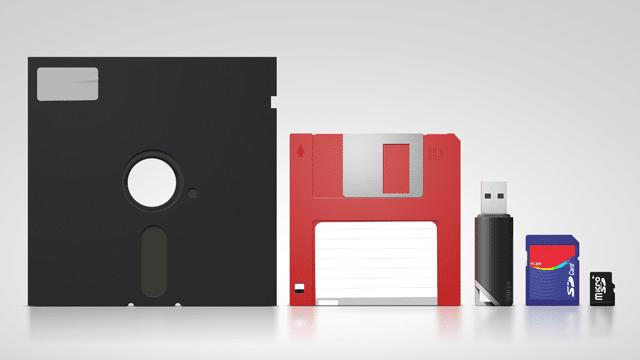 Evolution Of Technology As Memories