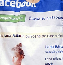 The Facebook Dress: Wear Your Status Updates