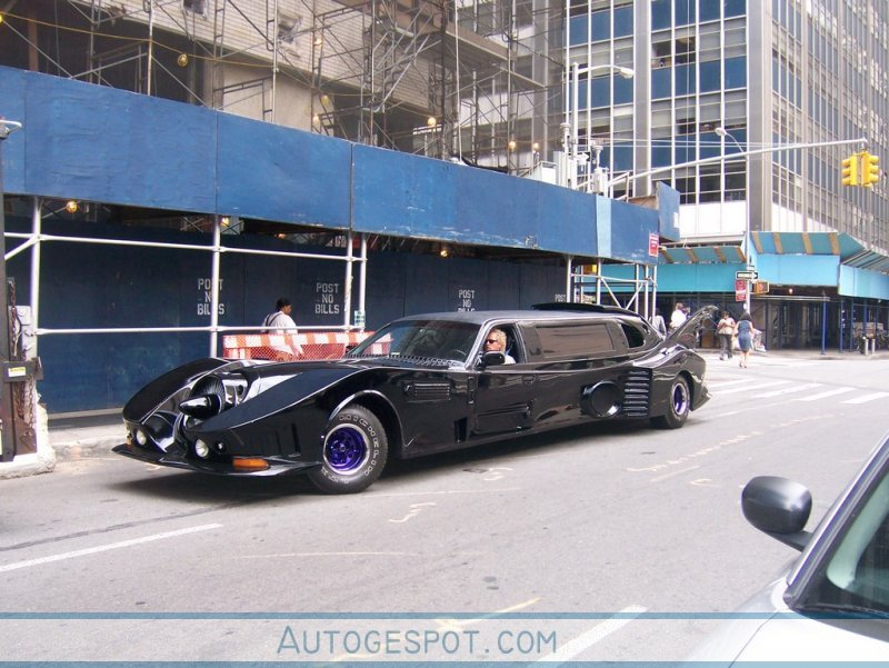 Fan Created Batmobile Limousine Car