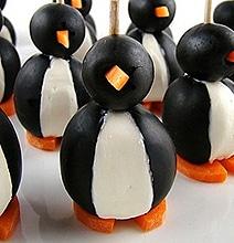 How To: Make A Black Olive Penguin
