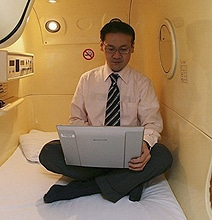 The Japanese Sleeping Capsule For Nighttime Workaholics