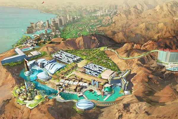 King Of Jordan Builds $1.5 Billion Star Trek Theme Park