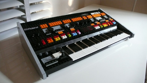 Lego Roland Jupiter 8 Synthesizer