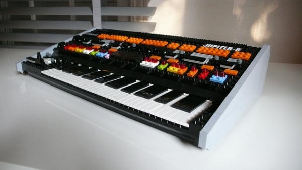 Lego Roland Jupiter 8 Synthesizer