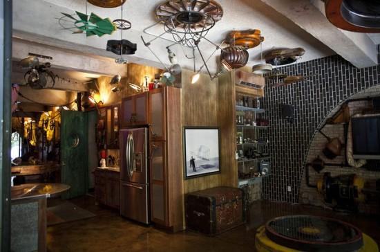 manhattan steampunk interior design apartment - Steampunk Interior Design Ideas