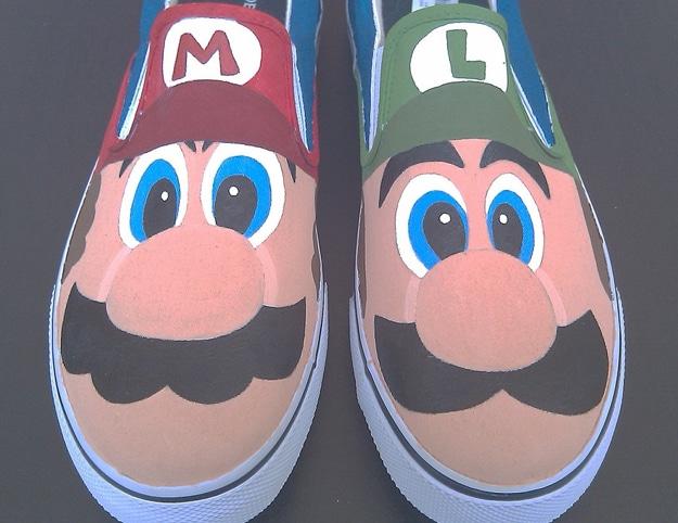 Super Mario Bros Sneakers