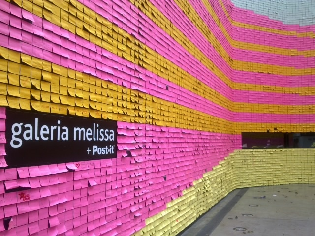 World's Largest Post-It Stop Motion Uses 350,000 Notes