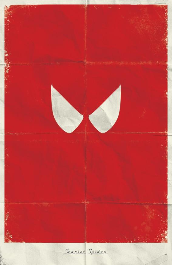21 Minimalistic Superhero Posters