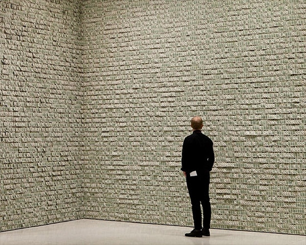 $100,000 On A Wall