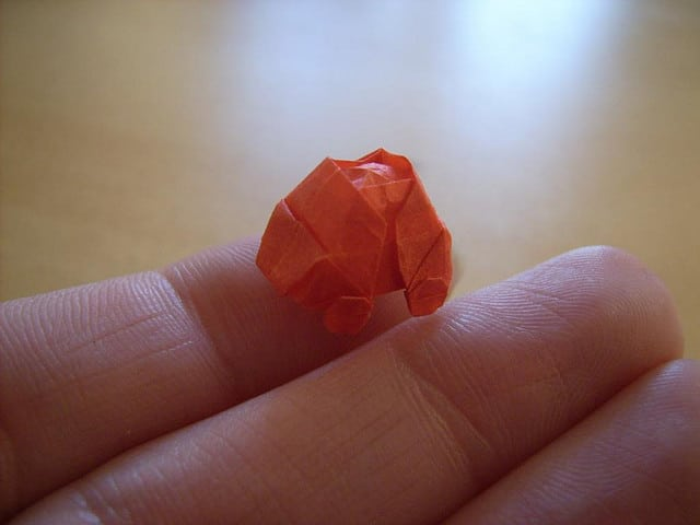 Nano Created Origaming Folding Creations