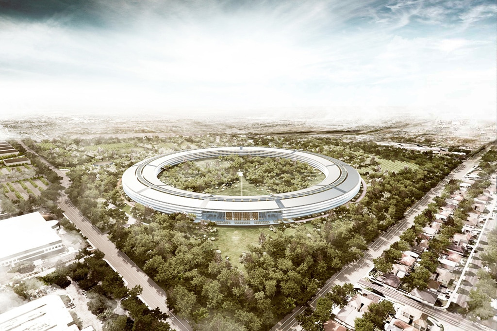 New Headquarter Of Apple Design