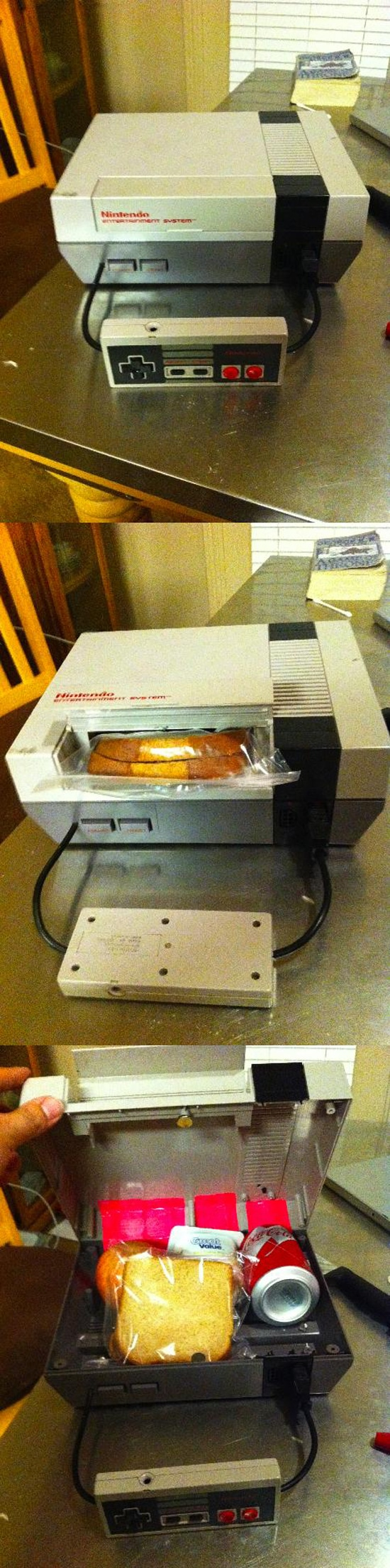Retro Nintendo Entertainment System Lunch