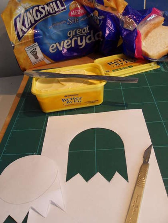 Geeky Toasted Bread Stencils
