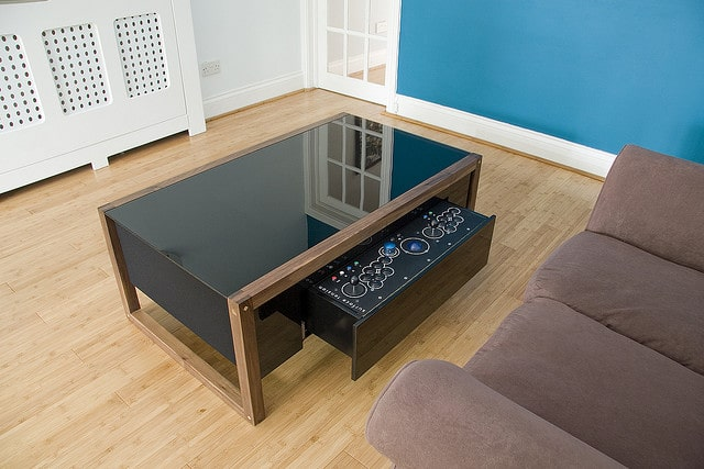 Retro Gaming Arcade Coffee Table