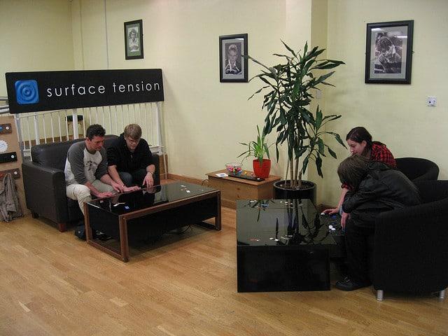 Retro Gaming Arcade Coffee Table