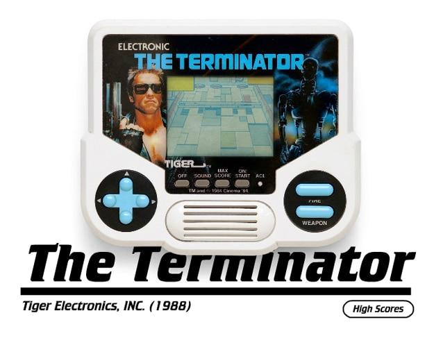 Retro Handheld Console Gaming Website