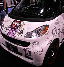 12 Crazy Cool Custom Smart Car Designs