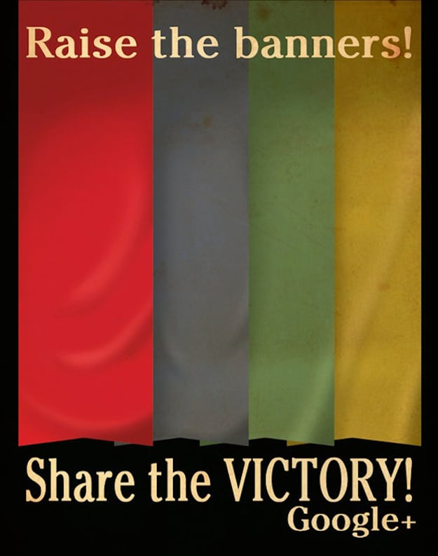 Share the Victory Google Illustration