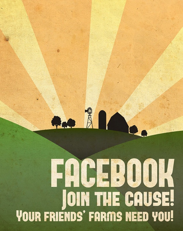 Facebook Join The Cause Illustration