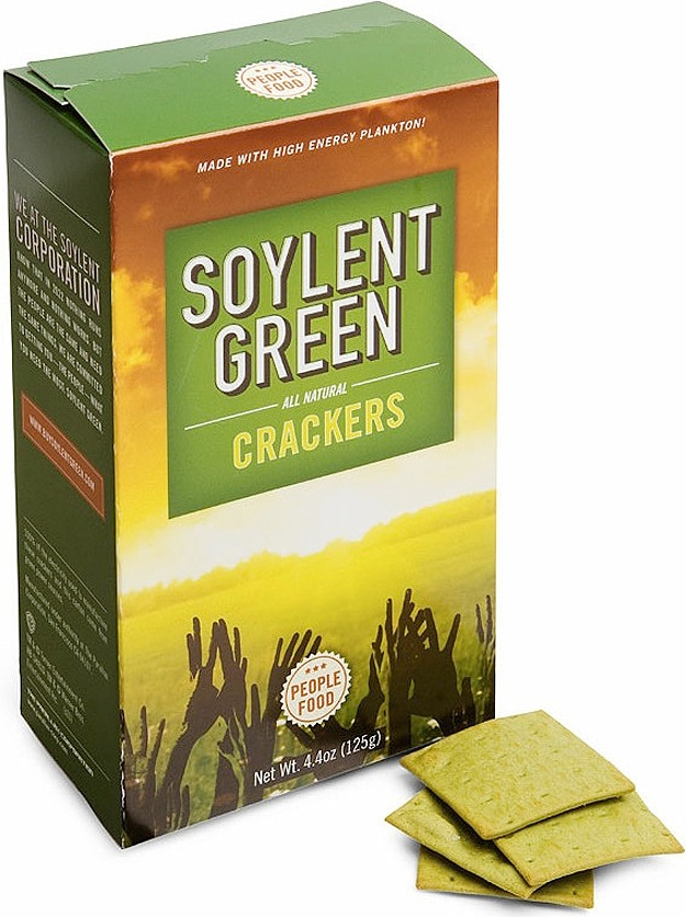 Soylent Green Crackers: People Never Tasted So Delicious