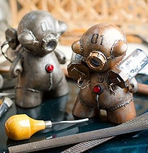 Little Steampunk Toys To Brighten Your Day