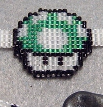 For Stylish Geeks: The Super Mario Mushroom Bracelet