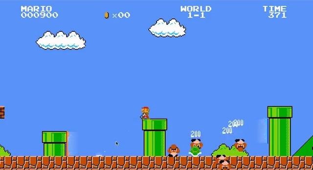 Super Mario Portal Gun Gameplay