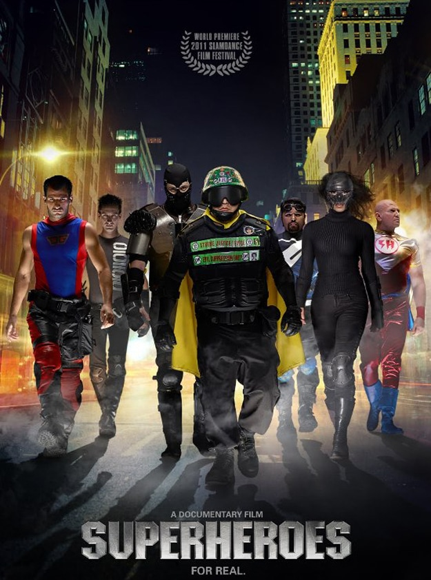 Superheroes In Real Life (And Yes, They Have Masks)