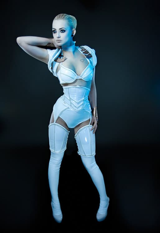 Tron Legacy Glowing Cosplay Suit