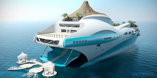 Luxury Boat Concept Design