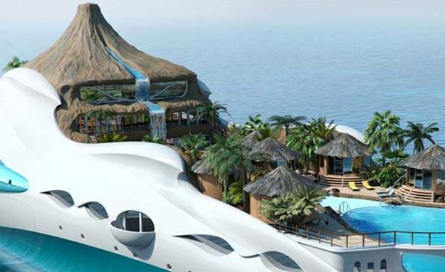 Luxury Boat Conept Design