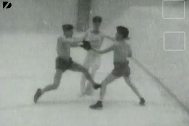 Underwater Boxing Match From 1939