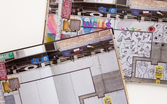 Walls Street Art Graffiti Notebook