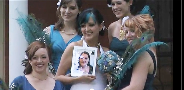 Bridesmaid Comes To Wedding… On An iPad