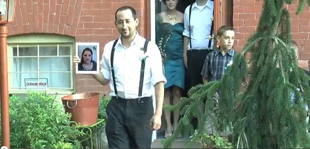 Attend Wedding On An iPad