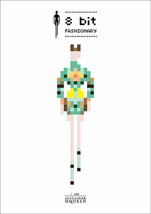 Famous Fashion Designer Styles Turned Into 8-Bit Pixel Art