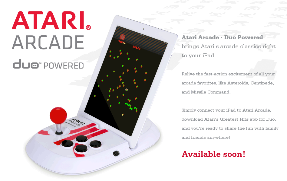 Retro Atari Arcade Joystick For The iPad 2