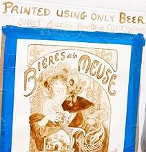 Beer Paintings: Extraordinary Art Painted With Beer