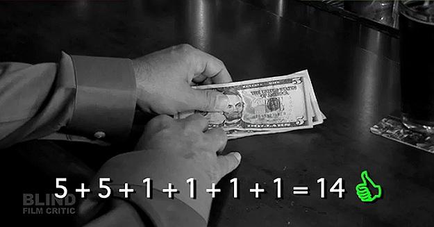 American Dollars vs Blind Man