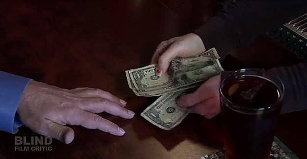 American Dollars vs Blind Person