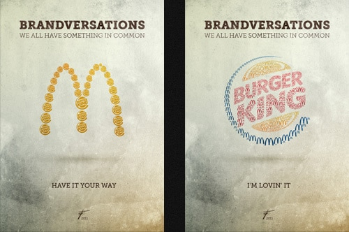 Brandversations Competitor Infested Logo Design