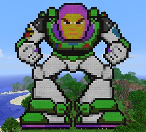 Toy Story Buzz Lightyear Art